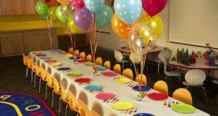 Aniversário na Escola