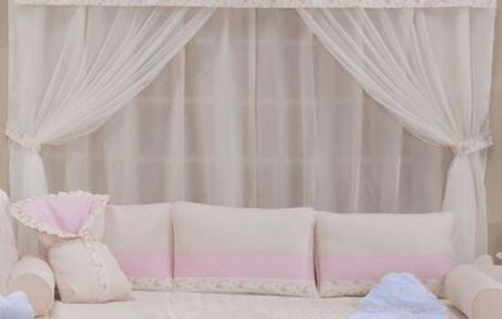 cortina quarto de bebê menina