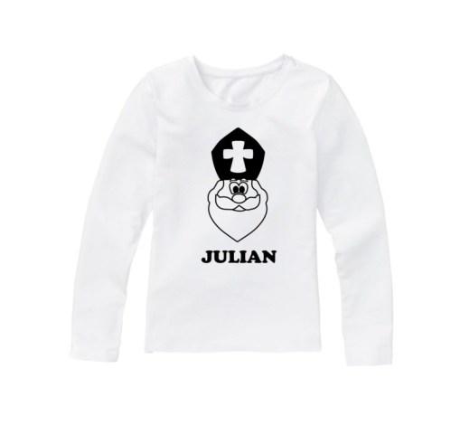 Sinterklaas shirt met naam