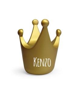 Kroon spaarpot met naam