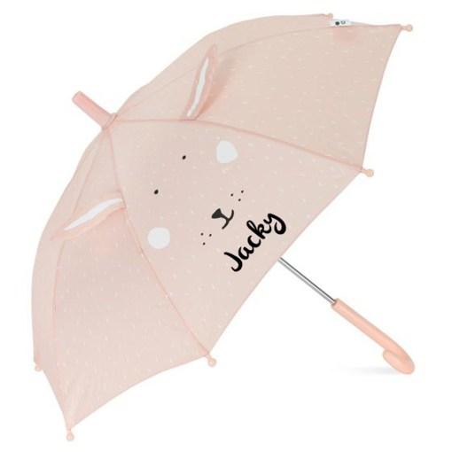 Kinder paraplu konijn met naam