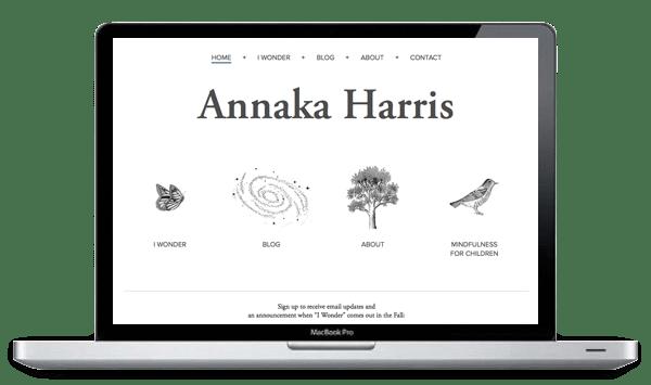 Annaka Harris Launches New Responsive Website