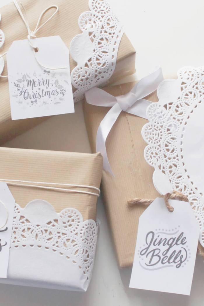 pacchetti regalo natalizi: diy per pacchetti romantici e originali