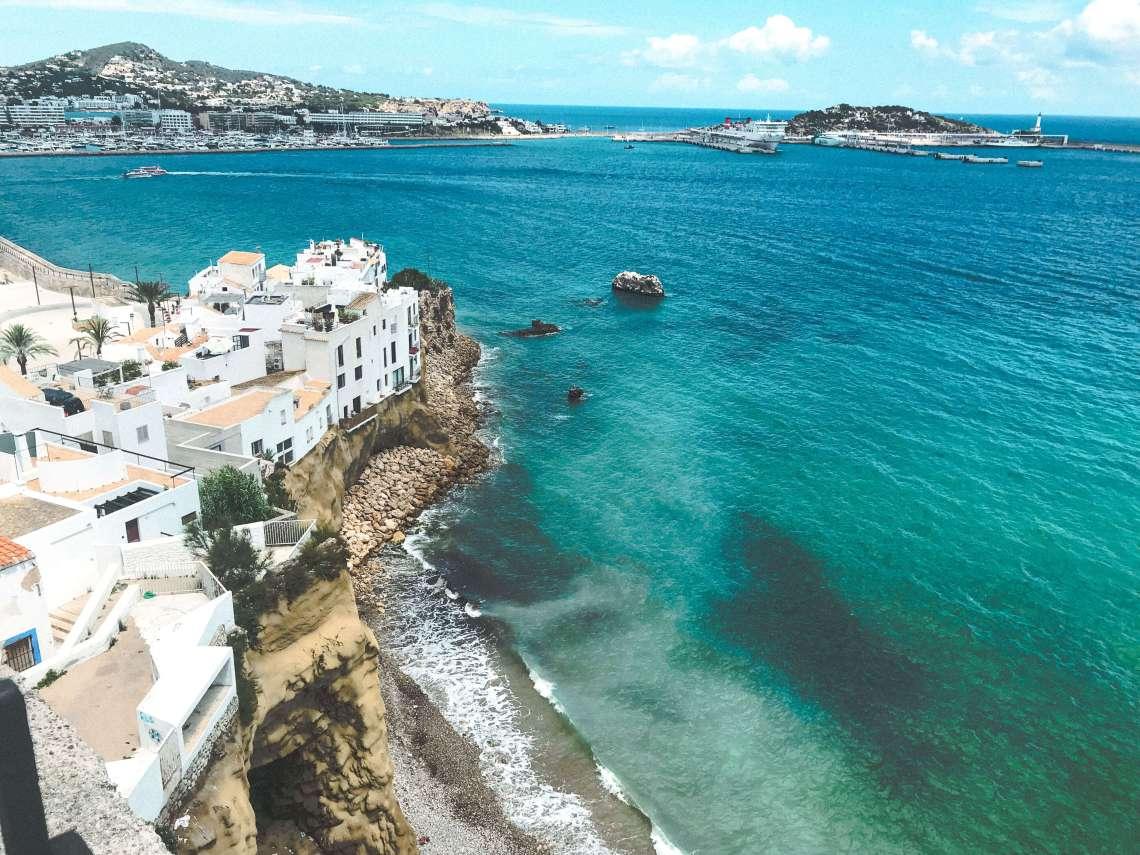 centro di Ibiza-vista dalla citta vecchia 4