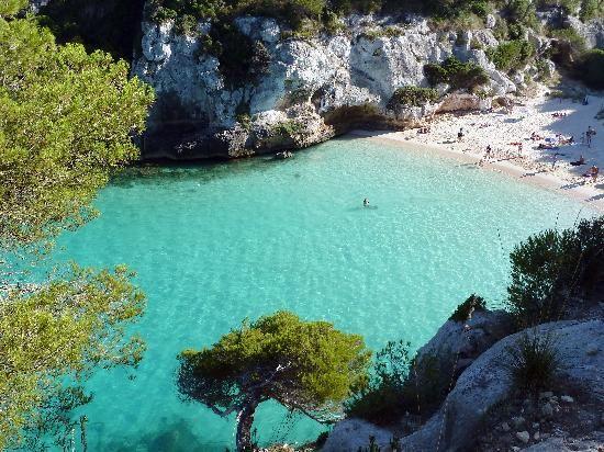 Cala macarelleta-le spiagge più belle di minorca