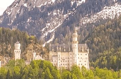 castelli di baviera-castello di Neuschwanstein.