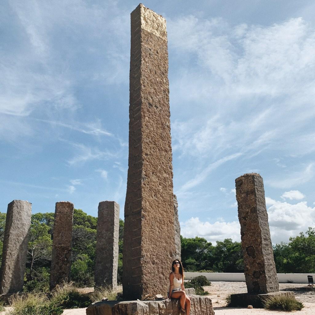 posti sconosciuti di Ibiza: Stonehengee