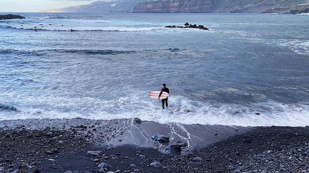 Puerto de la Cruz Tenerife surf