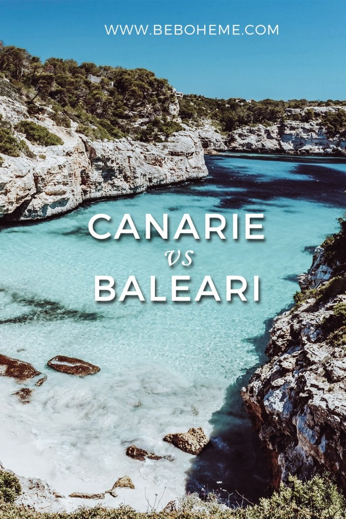 Canary or Balearic islands