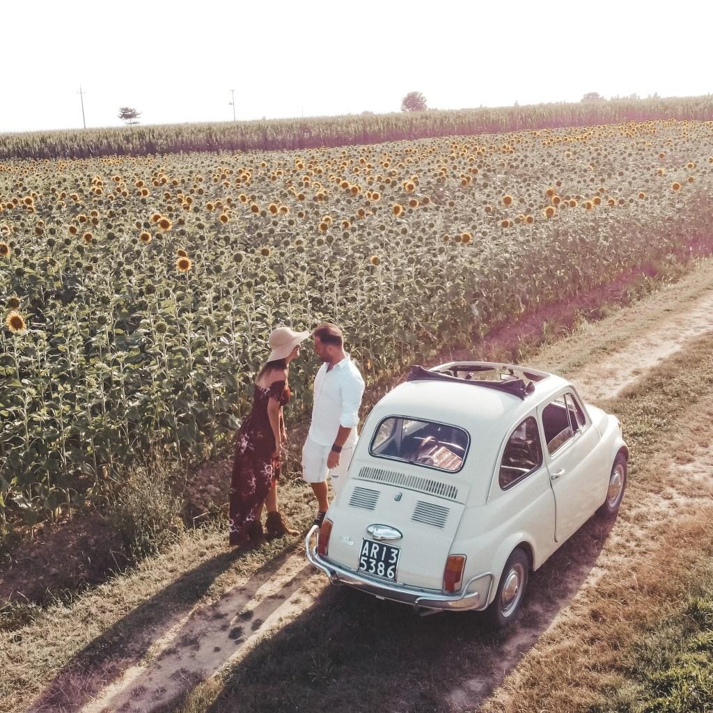 Picnic romantico in Toscana Agriturismo I Pagliai