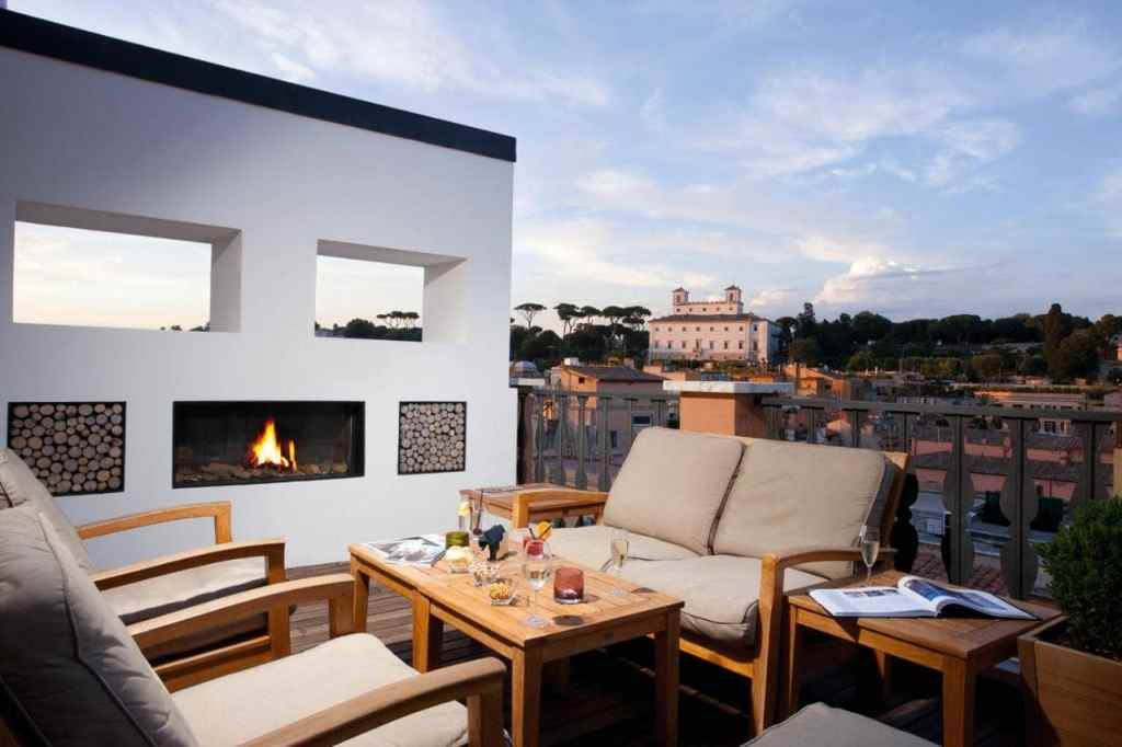 Portrait Roma - Lungarno Collection-luxury hotel in ROME with a terrace on the roof
