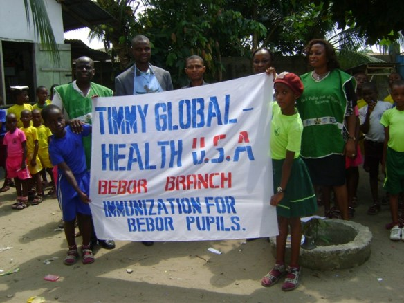 More than 2/3rds of the entire funding for our pilot health project in Bodo came from Timmy Global Health. We gratefully acknowledge their support and especially thank Matt MacGregor, Dr. Mercy Obeime, Anna Butterbaugh, Mercy Medical Missions and the Indiana University student chapter of Timmy Global Health who made so much of our health project possible.