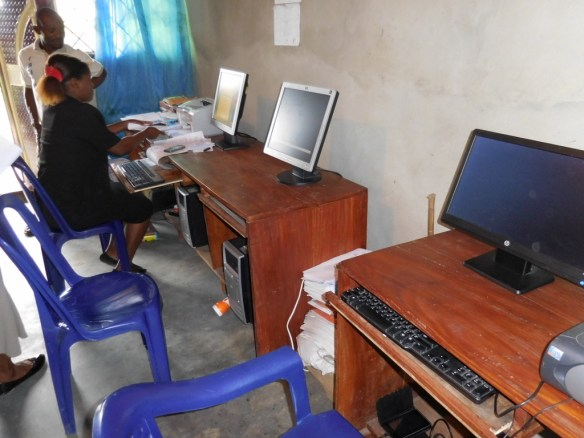 Using entirely their own local resources and with no help from us, the school in Bori established a small computer center in 2015.