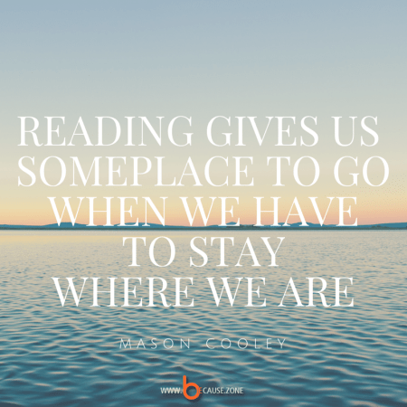Reading gives us someplace to go @ because.zone