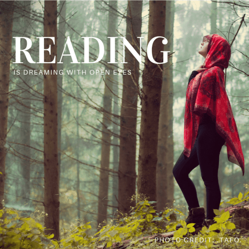 reading is dreaming @ www.because.zone