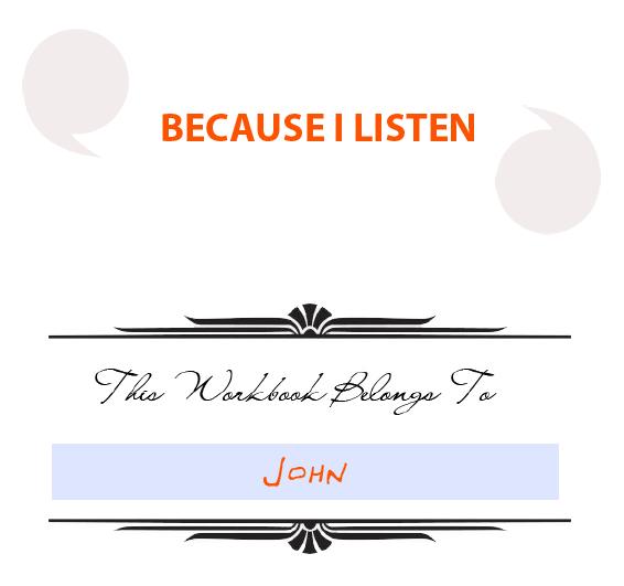 Because I Listen