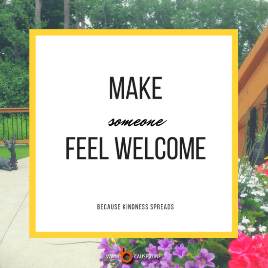 make-someone-feel-welcome