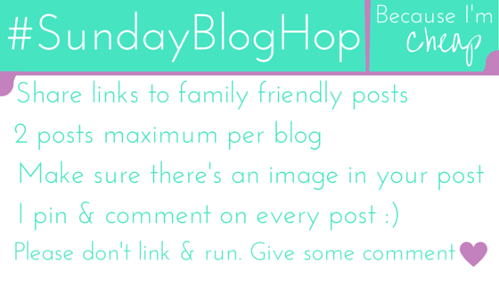_SundayBlogHop Rules