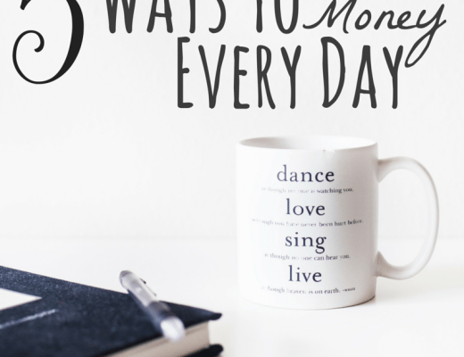 5 Ways To Save Money Every Day