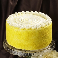 Elegant Cakery lemon cream cheese dessert cake