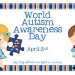 Lighting it Up Blue with Books! Autism Awareness Day! #autismawareness