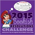 2015 Bookish Resolutions Challenge Goal Post #bookishresolutions