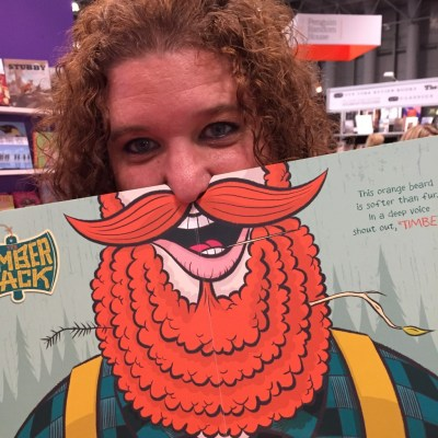 My sister and her beard