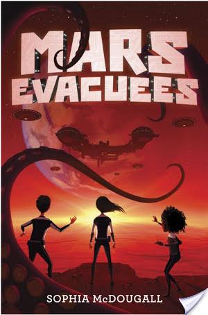 #Review ~ Mars Evacuees by Sophia McDougall