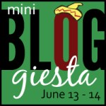 It's MINI #BLOGGIESTA Time!!!! UPDATE and Finish!