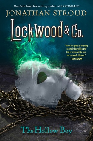 #Review ~ The Hollow Boy (Lockwood & Co. #3) by Jonathan Stroud