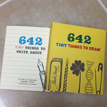 #Review ~ 642 tiny things to write about and Draw ~ 2 reviews one post
