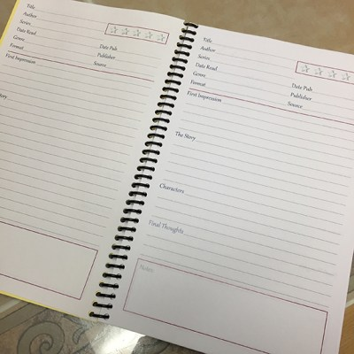 Made myself a review notebook in the format of my new review style. I am loving it and it's came out perfect :)