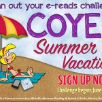 It's time to SIGN UP FOR #COYER Summer Vacation!!!!