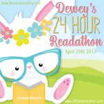 Dewey's 24 Hour #readathon! Goal Post!