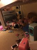 Under her loft bed sd1