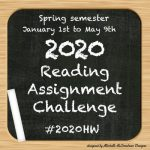 Registering for 2020 Reading Assignment Challenge Spring Semester #2020HW  ~ Michelle
