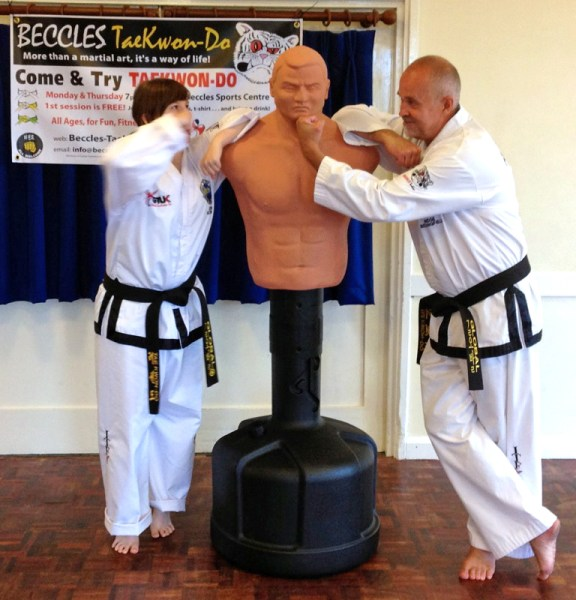 Beccles Taekwondo fun day11