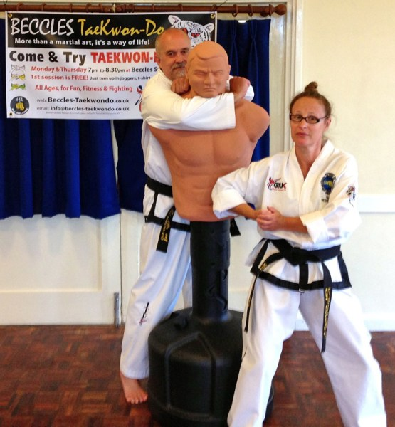 Beccles Taekwondo fun day12