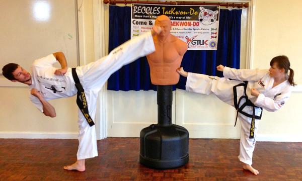 Beccles Taekwondo fun day14