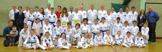 martial art of Taekwondo in Beccles