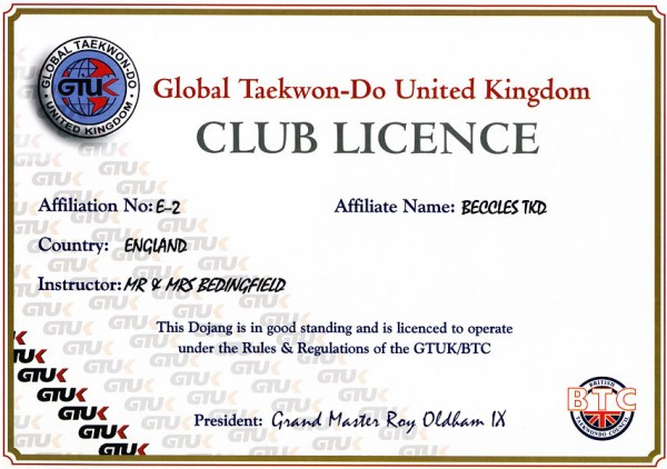 Beccles-club-licence