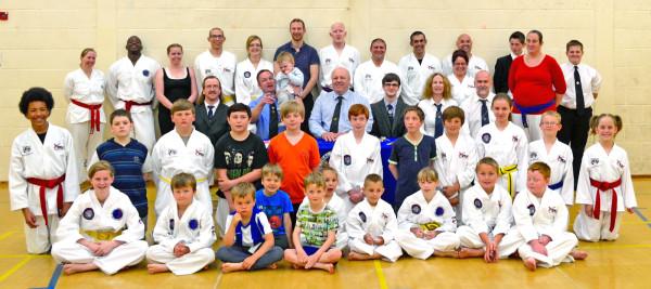 Beccles Taekwondo Grading Success