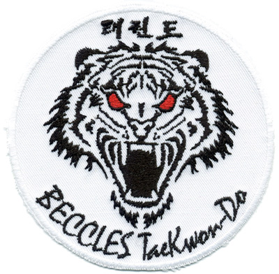beccles-TKD-embroidered-badge