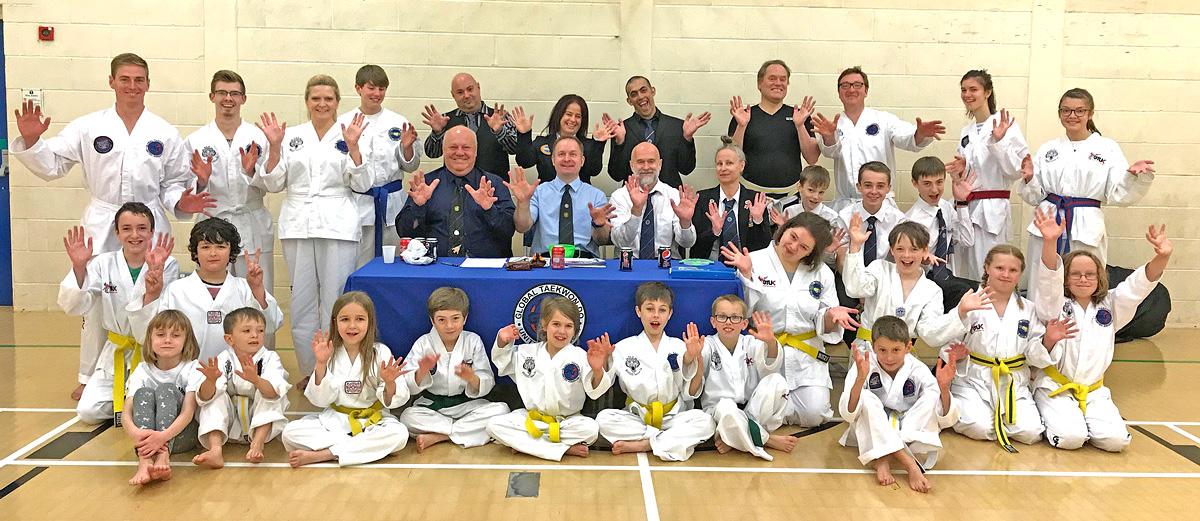 3rd Quarter Belt Grading Beccles & Bungay Taekwondo Clubs
