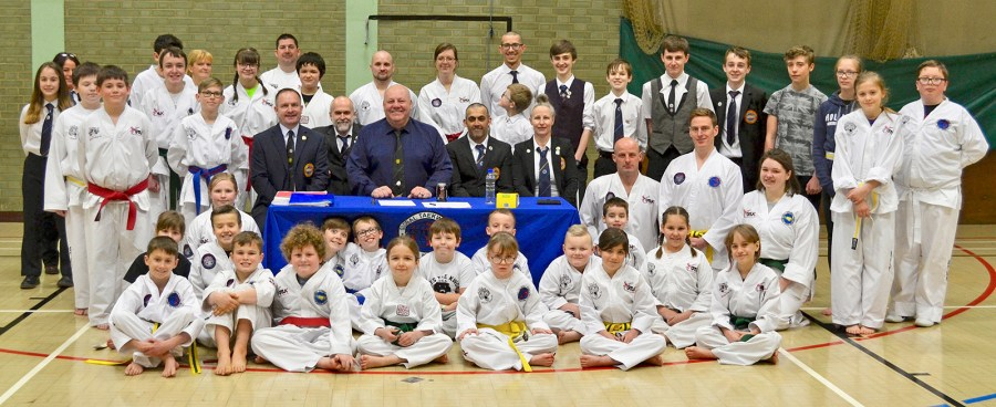 beccles taekwondo grading march 2018