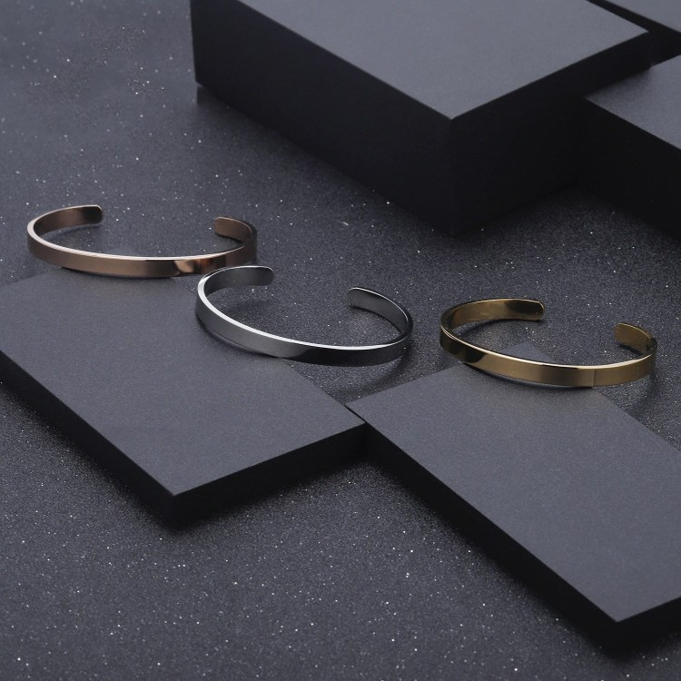 My Name Engraved Beautiful Casual Use Name Bangle Gold Silver Rose Gold