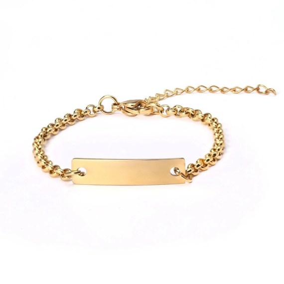 Personalized Custom Name Jewelry For Women Beceff Beast Quality Nameplate Bracelet Gold Silver Rose Gold