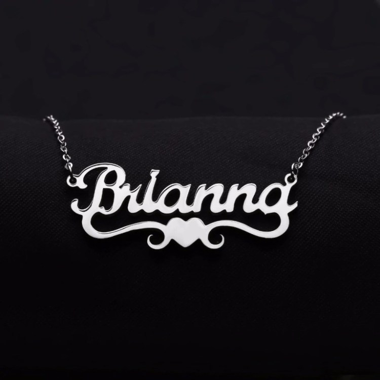 Bespoke Best Quality Name Necklace For Women Ladies Girls