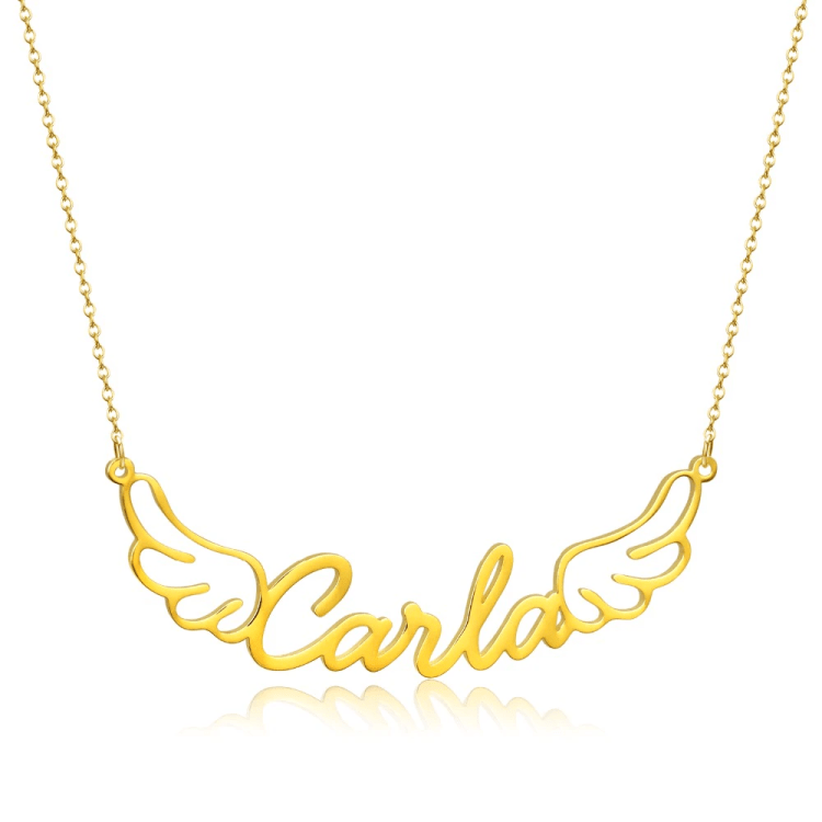 Classy Shine Nameplate Necklace Beceff Personalized Jewelry