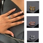 best personalized custom name ring for women for her birthday